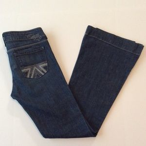 American Eagle Embroidered AE77 Bootcut Jeans 6